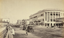 Great Eastern Hotel & Old Court House Street [Calcutta]